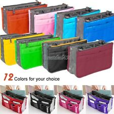 Travel Bag Organizer Insert Handbag Large Organiser Purse liner Tidy Pouch GT56