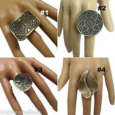 EGYPTIAN RING ADJ BELLY DANCE GYPSY JEWELRY TRIBAL ORIENTAL  ANTIQUE LOOK   104