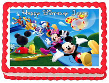 MICKEY MOUSE CLUB HOUSE Edible image Cake topper Frosting sheet