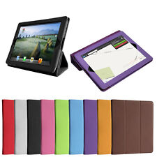 Flip Smart Cover Case Folding Stand for iPad 2 3 4 with Auto Sleep Wake + Film