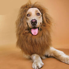 New Pet Costume Lion Mane Wig for Dog Cat Clothes Party Fancy Dress Up Joli