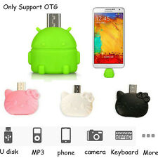 Micro USB To USB OTG Adapter For Android Phone Tablet To U Flash/Mouse/Keyboard