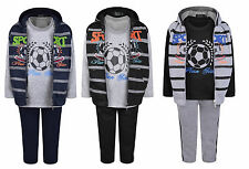 Kids Fleece Hoodie 3-Piece Tracksuit. Value for money. 2 to 11-12 years