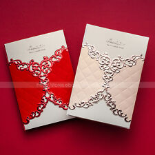 Brief Fashion Design Wedding Invitations Cards With Envelopes and Seals