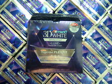 Crest3D Luxe SUPREME FLEXFIT teeth whitening strips STRONG 1,2,4,6,8,10,12,14