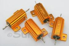 Wirewound resistor 25W Aluminium Housed Clad +-5% 0.1-39 Ohm various 1-2pc