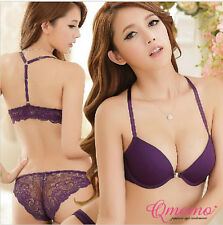 Sexy Elegant Bra & Panty Set Women Bras Underwear Lady push up bra Lingeries #B1