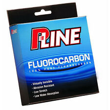 P-LINE 100% PURE FLUOROCARBON FISHING LINE 250 YARDS select lb test
