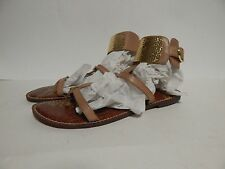 Sam Edelman Genette Ankle Strap Sandal 10 M Classic Nude New Without Box
