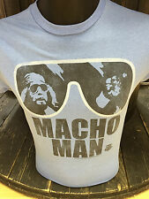 Official Jack Of All Trades WWE Legends T Shirt Macho Man Randy Savage Wrestling