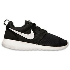 (511882-019) WOMEN'S NIKE ROSHE RUN BLACK/WHITE/VOLT