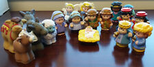 NEW Fisher Price Little People Nativity Replacement Figures PICK ONE Jesus Mary