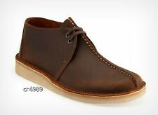 Clarks Originals Mens Core Desert Trek beeswax Leather Center Stitch Shoes 36449
