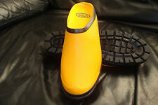 Rubber Gardening Clog (idea for camping and caravanning too) Yellow