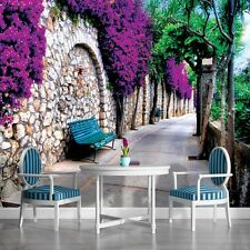 PHOTO WALL MURAL WALLPAPER WALLCOVER HOME DECOR ROMANTIC ALLEY GARDEN VIEW 697VE