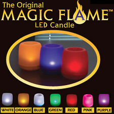 The Original Magic Flame LED Flameless Candle 7 Colors Magic LED Candles