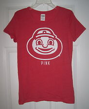 NWT VICTORIA'S SECRET PINK OHIO STATE BUCKEYES BRUTUS OSU FITTED T SHIRT TOP