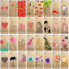 Transparent Thin Soft Case Cover For iPhone4 4S 5 5S 6 6Plus Newest Cute Pattern