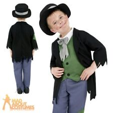 Victorian Boy Costume Artful Dodger Fancy Dress Oliver Twist Book Week Outfit
