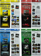 2015 SLIM WALL CALENDAR MONTH TO VIEW AUTO CARS BIKES BUGS & BUSES SPIRAL HOOK