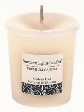 1-15 Hour Vanilla Cream Scented Premium Votive Candle~With Holder~USA Made~NL