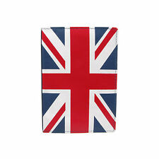New Slim Fold Passport Holder Union Jack Leather Wallet  0118