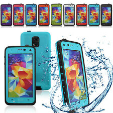 Waterproof Shockproof Dirt Proof Case Cover For Samsung Galaxy S5 V i9600 Retail