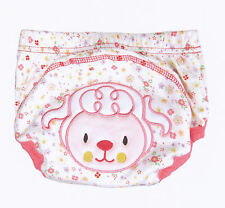 1x Potty Training Pants for Girls Boys Unisex Sizes from 80 90 100 - Lamb Design