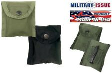 BLACK or GREEN Military Nylon Compass Utility Bandage Pouch With Belt Clip 408