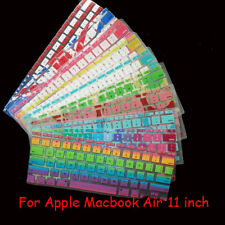 Thin Clear Soft Silicone Keyboard Skin Cover Film For Apple MacBook Air 11.6""