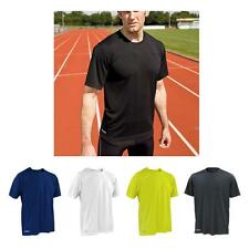Men's Spiro quick dry short sleeve sports t-shirt -  Lime Navy Black White