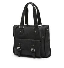 Leather Men Briefcase Tote Messenger Shoulder Hand Bag Laptop Bag Bookbag