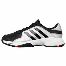 Adidas Barricade Court Black Silver 2015 Mens Tennis Shoes Sneakers