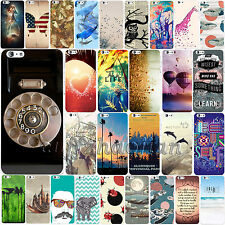 New Unique Simple Pattern PC Hard Back Skin Case Cover For Apple iPhone 6 6 Plus