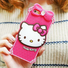 Hello Kitty Case iPhone 6/6s, 6/6s Plus Silicone Cover Fitted Classic 4Colors