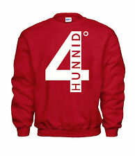 4 Hunnid - yg 400 degreez mac miller CREWNECK Shirt - Red