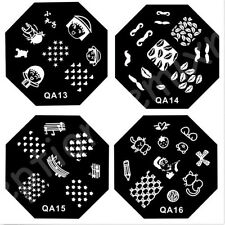 60 Styles For Choose DIY Nail Art Image Stamp Stamping Plates Manicure Template