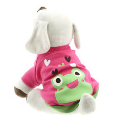 Pet Dog Puppy Clothing Apparel Cute Frog T-shirt Clothing Pet Supplies