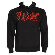 Official Slipknot Unisex Black Logo Hoodie ALL SIZES - Band Merchandise