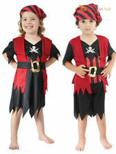 Toddler Pirate Costume Girls Boys Age 2- 3 Childs Kids Book Week Day Fancy Dress