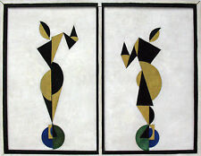 THEO VAN DOESBURG DANCERS ABSTRACT ART DECOR HOME Giclée Prints