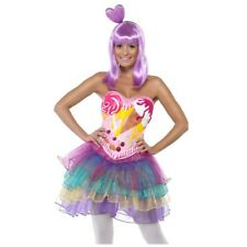 Adult Womens Katy Perry Candy Queen Costume