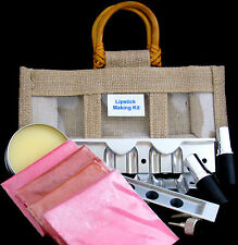 Professional Lipstick Making Kit - Includes mould, lipstick tubes & Pigments.