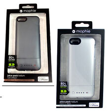 NEW ! Mophie Juice Pack Helium 1500 mAh Battery Case Cover for Apple iPhone 5 5S