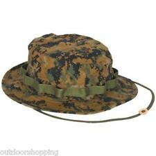 Woodland Digital GI Boonie Hat w/Chin Straps - Made To Government Specifications