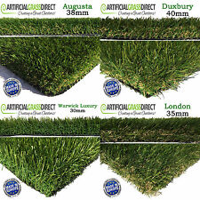 Artificial Grass Quality Astro Lawn Garden Cheap Realistic Natural Turf Green