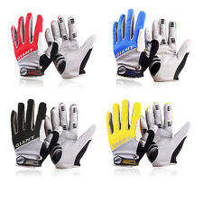Silicone GEL Full Finger Men Winter Warm Cycling Gloves Slip for mtb riding bike