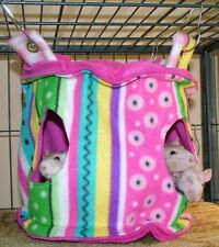 MTO HANGING RAT HAMMOCK/HOUSE/BED/TENT W/2 OPENINGS