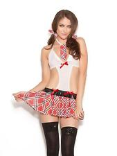 Ann Summers Womens Miss Demeanor Apron Red Sexy Bedroom Lingerie Underwear