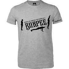 Burpee Crossfit Gym T Shirt When Life Knocks You Down Do A Burpee